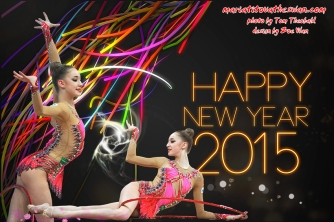 Maria Titova the Swan-FB banner-Happy New Year 2015