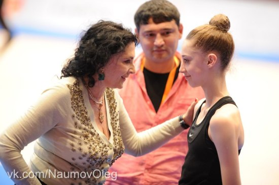 Maria Titova-Training-EC Vienna 2013-13