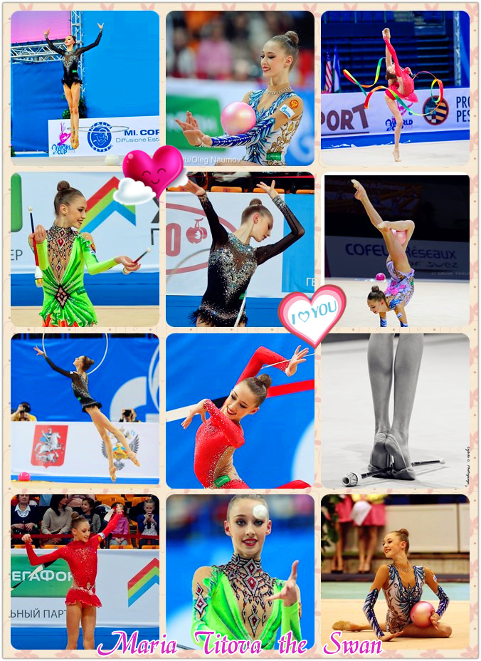 Masha-2013 routines-photo montage