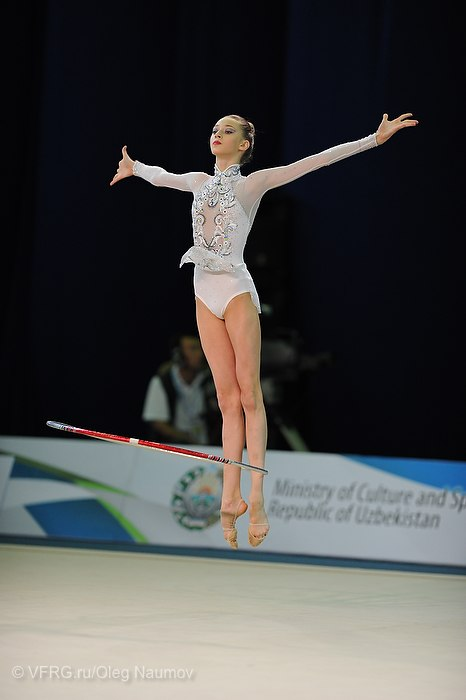 Maria Titova-Hoop-junior team competition-Happy Caravan Tashkent 2012