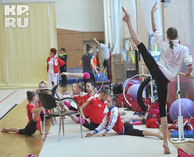 Maria Titova-Training-Novogorsk- 2013-02