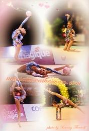 Maria Titova the Swan-Photo Collage-Ball 2013 #2