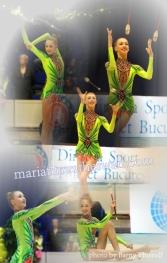 Maria Titova the Swan-Photo Collage-Gipsy King