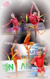 Maria Titova the Swan-Photo Collage-My Fair Lady
