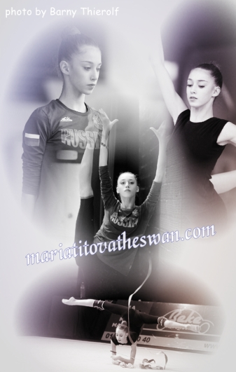 Maria Titova the Swan-Photo Collage-Training