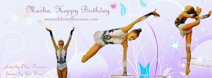 Maria Titova the Swan-Happy Bday 2013 fb banner-Zoe
