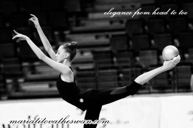 Maria Titova the Swan-Elegance from head to toe