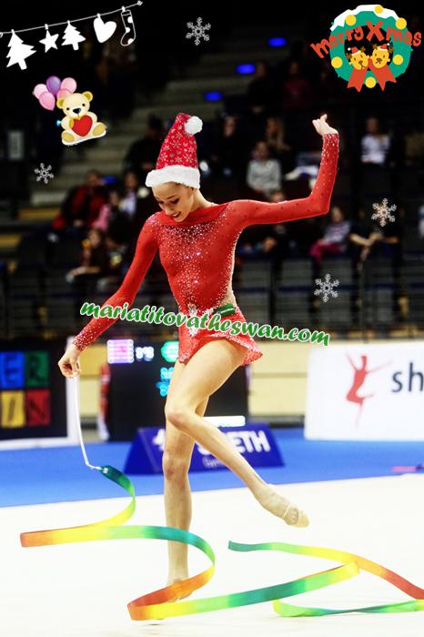 Maria Titova the Swan-Santa