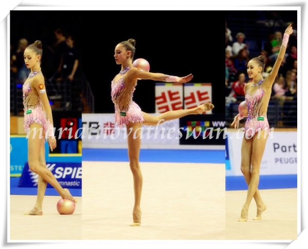 Maria Titova the Swan-Photo Collage-Adieu