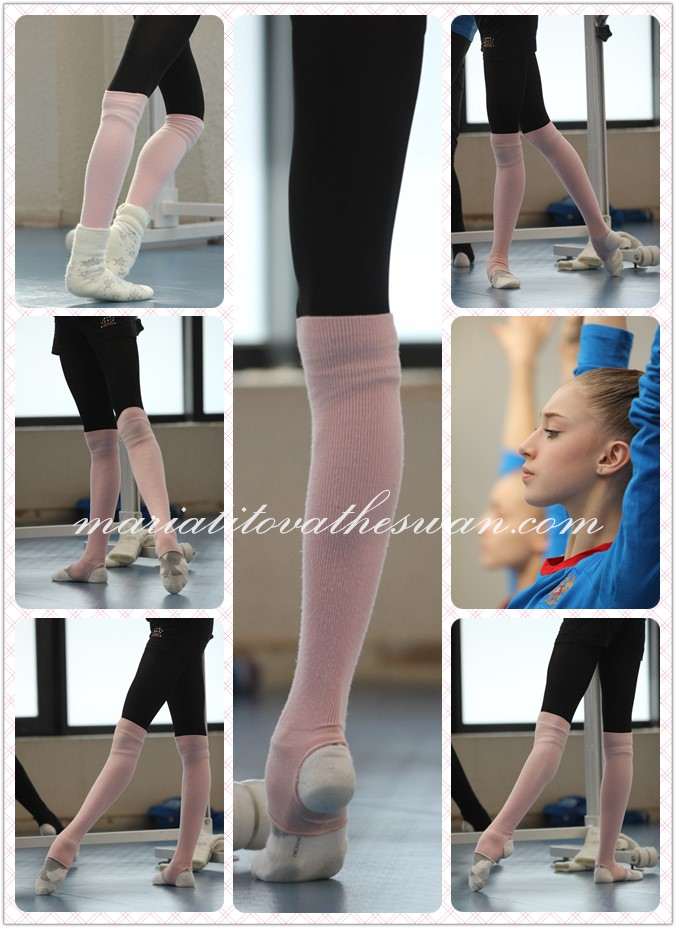 Maria Titova the Swan-Photo Montage-Simply Legs-Zoe
