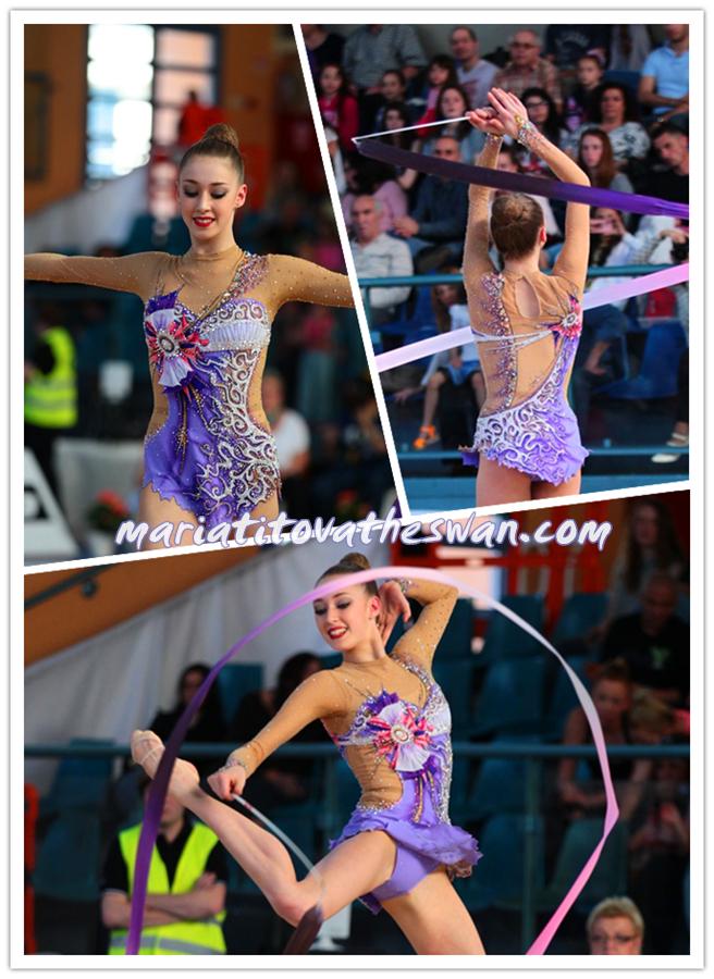 Maria Titova the Swan-Photo Collage-New Ribbon Leo 2014