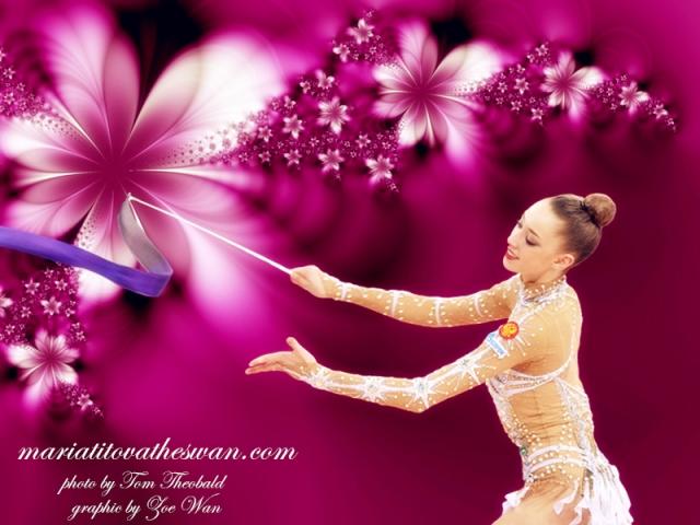Maria Titova the Swan-Russian Dance