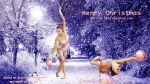 Maria Titova the Swan-Wall-Merry Christmas 2014-02