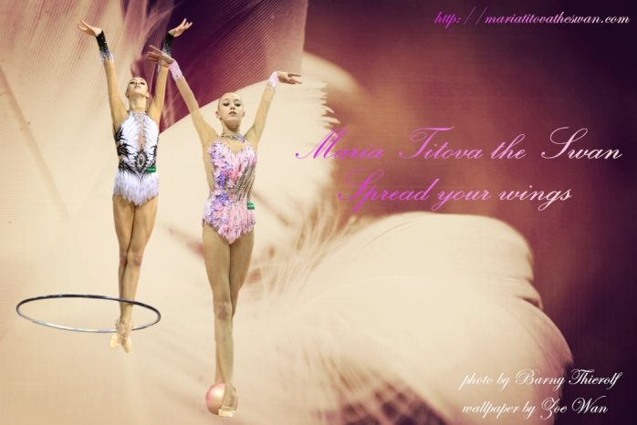Maria Titova the Swan-Wall-Spread your wings#2-Zoe