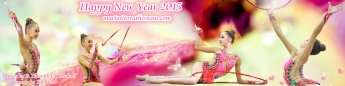 Maria Titova the Swan-WP banner-Happy New Year 2015-01