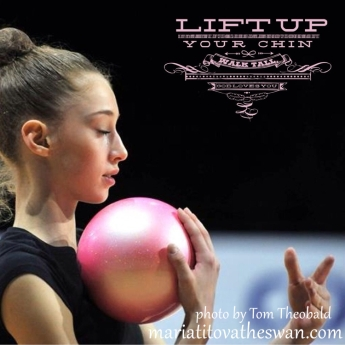 Maria Titova-Lift Up Your Chin, Walk Tall, God Loves You!