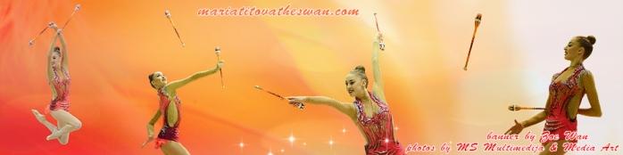 Maria Titova the Swan-WP banner-Malagueña-Clubs 2015