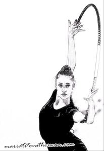 Maria Titova the Swan-Sketch-05