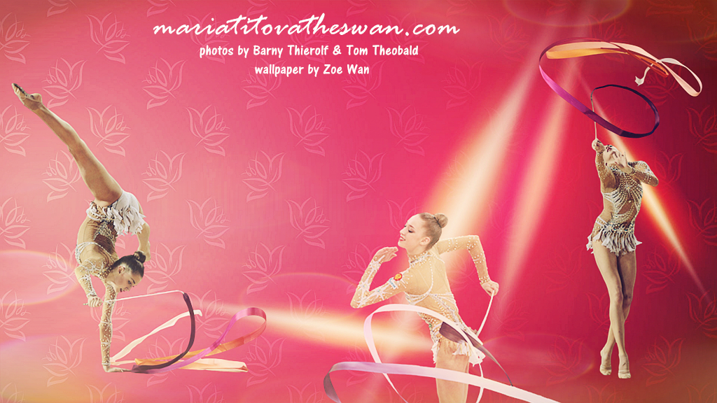 Maria Titova the Swan-Wall-ribbon-1024